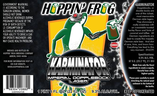 Hoppin Frog Karminator Imperial Doppelbock
