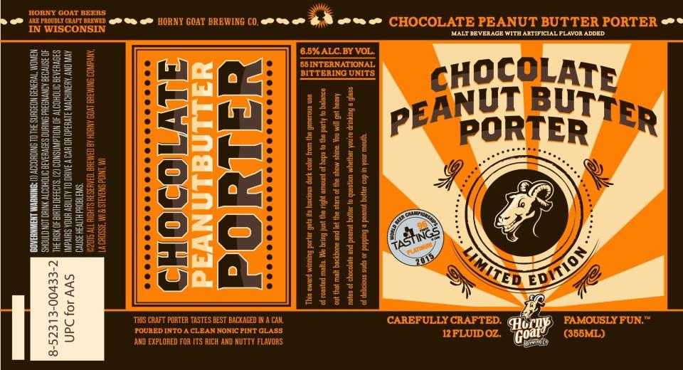 Horny Goat Chocolate Peanut Butter Porter
