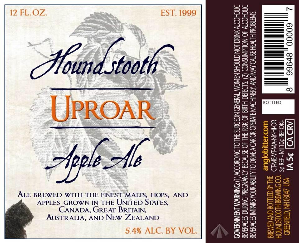 Houndstooth Uproar Apple Ale