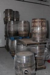 Four Roses Barrels