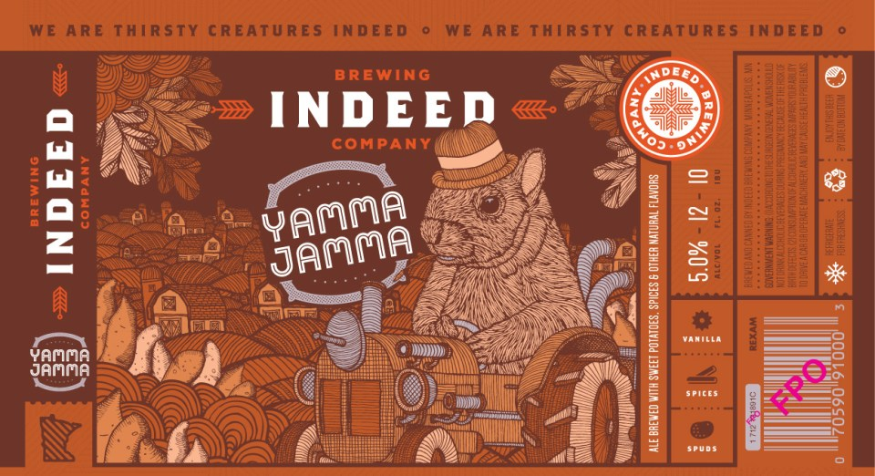 Indeed Brewing Yamma Jamma