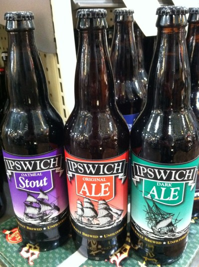 Ipswich Brewing Bottles