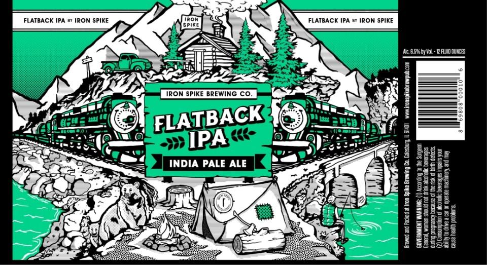 Iron Spike Brewing Flatback IPA