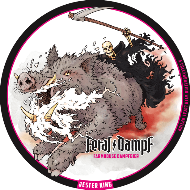 Jester King Feral Dampf