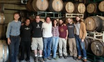 Brewing at Jester King in October 2013