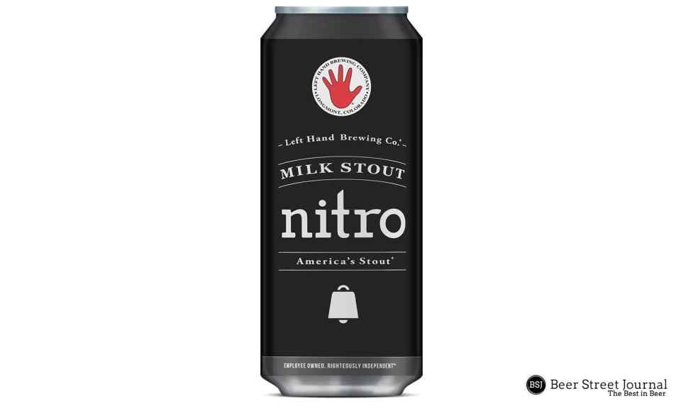 Left Hand Nitro Milk Stout Cans