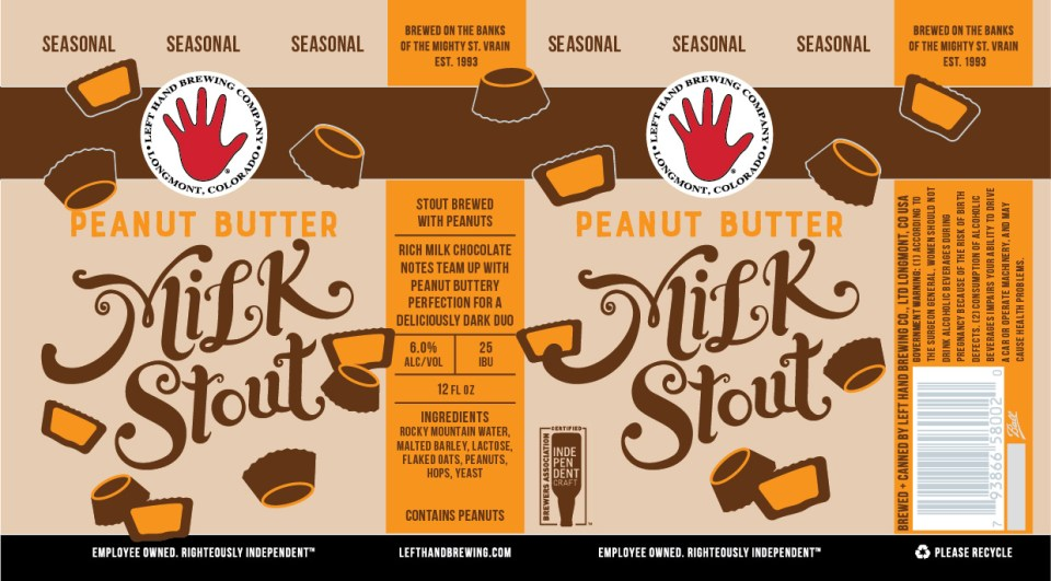 Left Hand Peanut Butter Milk Stout