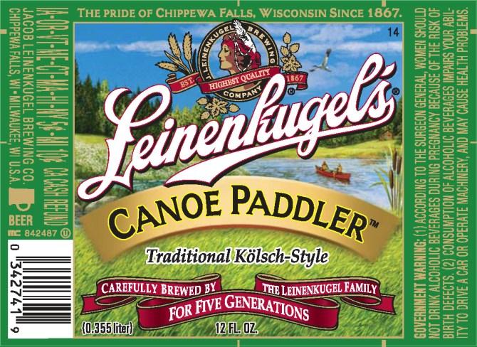 Leinenkugel's Canoe Paddler