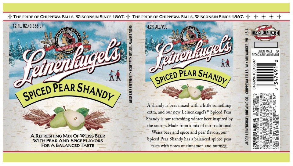Leinenkugel's Spiece Pear Shandy