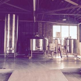 Lo-Fi Brewing's custom brew house