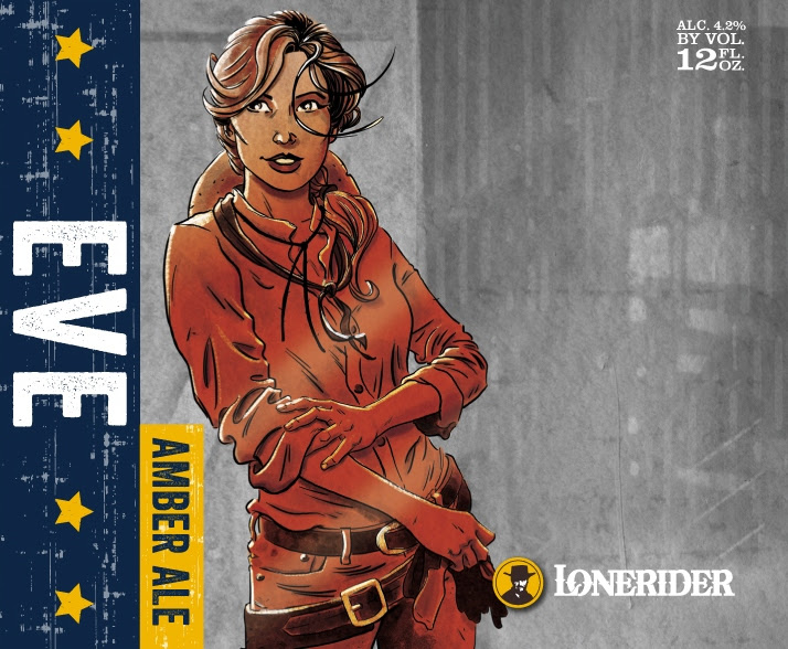 Lonerider Eve Amber Ale
