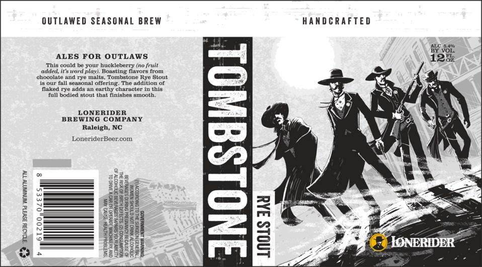 Lonerider Tombstone Rye Stout
