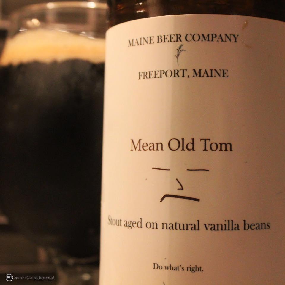 Maine Beer Mean Old Tom