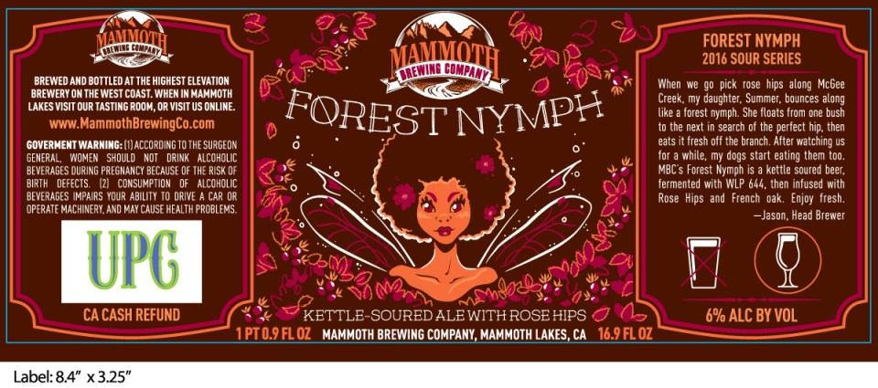 Mammoth Brewing Forest Nymph