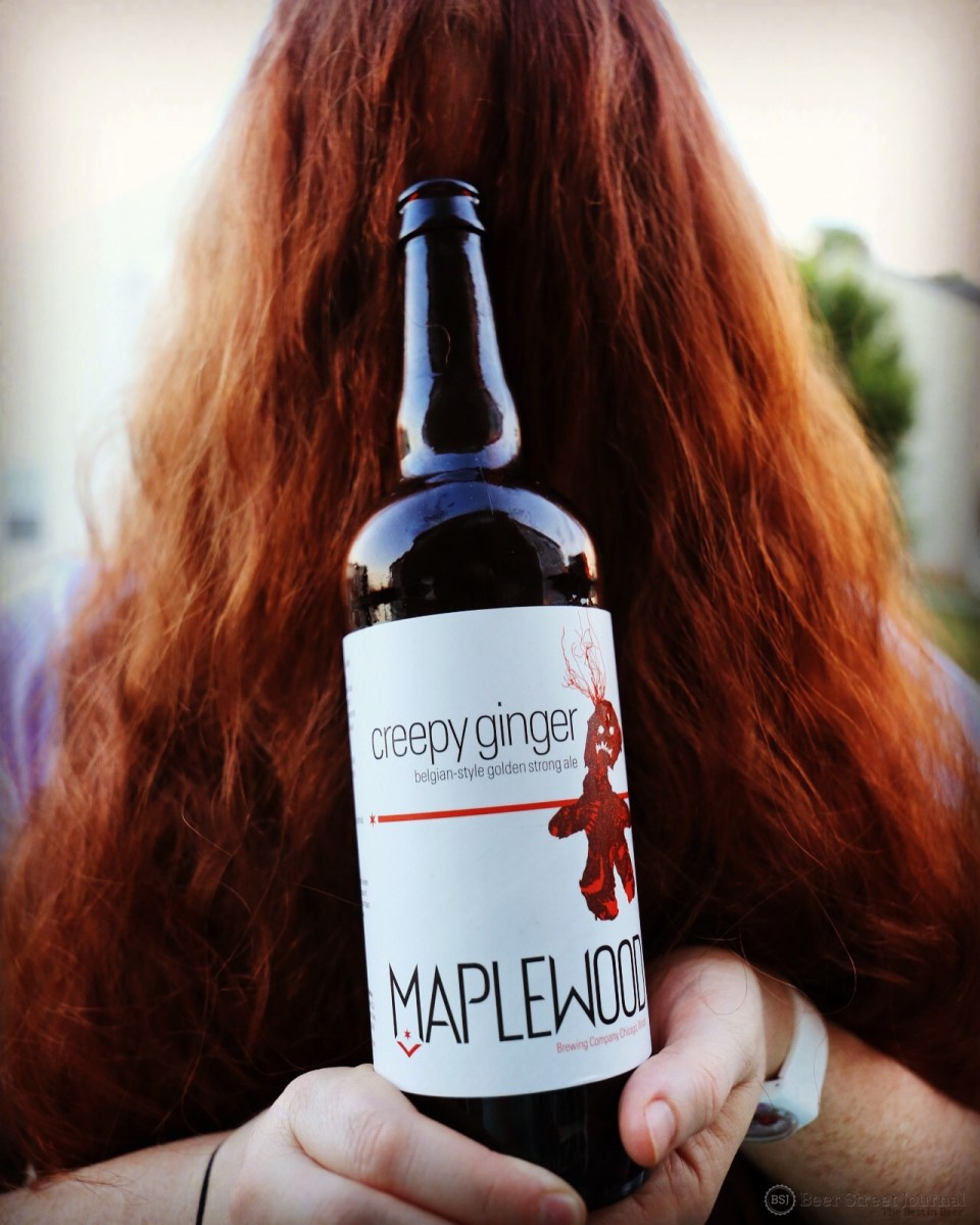 Maplewood Creepy Ginger bottle