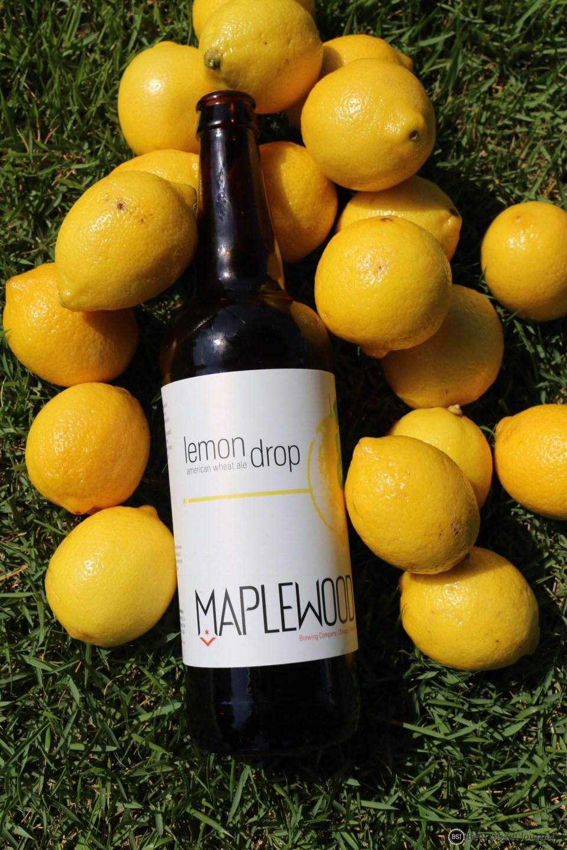 Maplewood Brewing Lemon Drop Wheat bottle