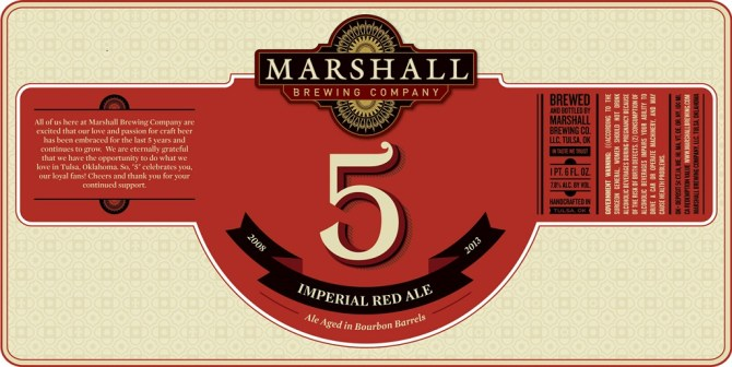 Marshall Brewing 5 Imperial Red Ale