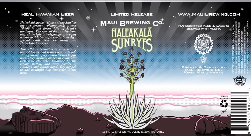Maui Brewing Haleakala Sunryes