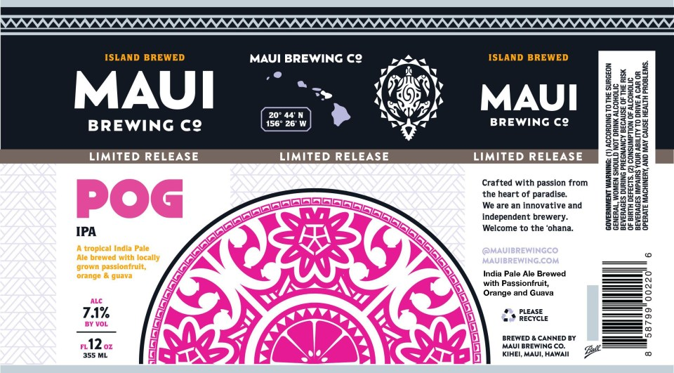 Maui Brewing POG IPA