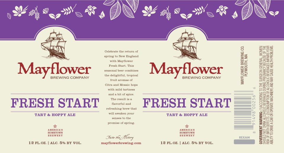 Mayflower Brewing Fresh Start
