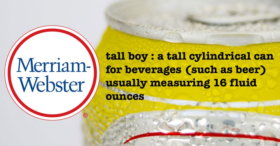 Merriam-Webster Tallboy