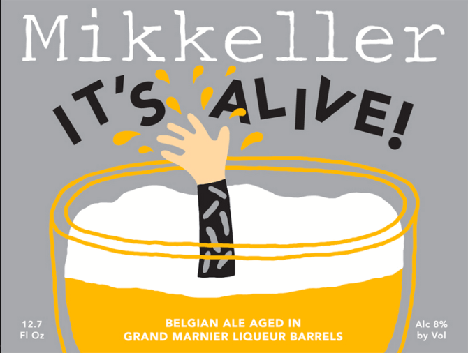Mikkeller Its Alive Grand Marnier