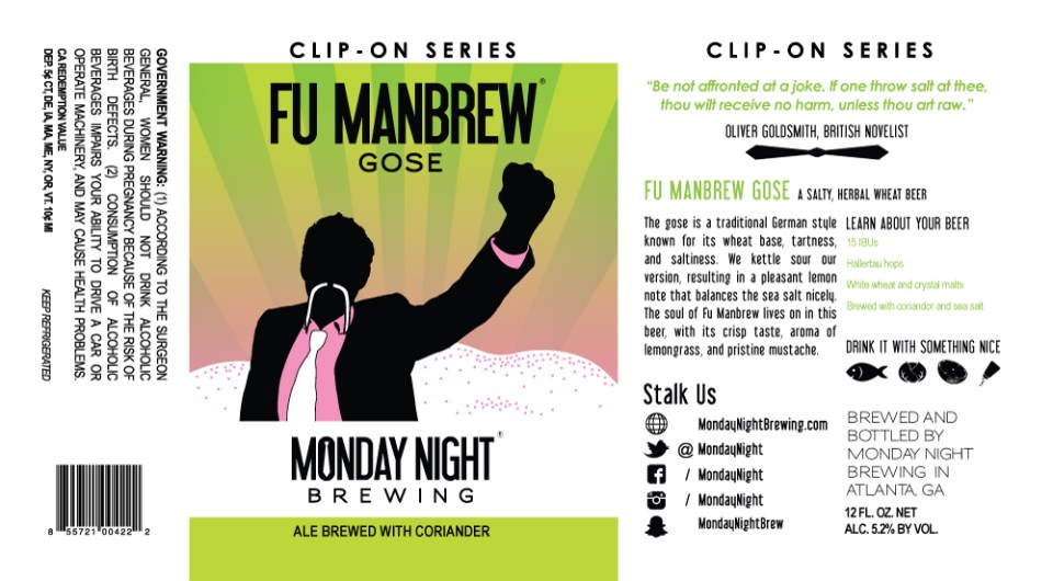 Monday Night Fu ManBrew Gose