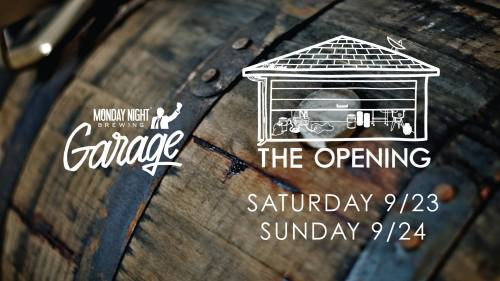 Monday Night Garage Grand Opening