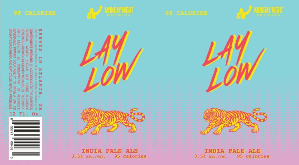 Monday Night Lay Low India Pale Ale
