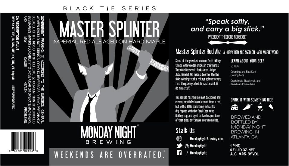 Monday Night Master Splinter