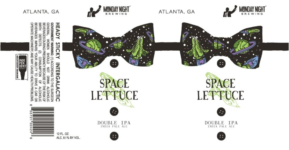 Monday Night Space Lettuce
