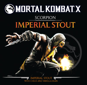 Mortal Kombat Scorpion Imperial Stout