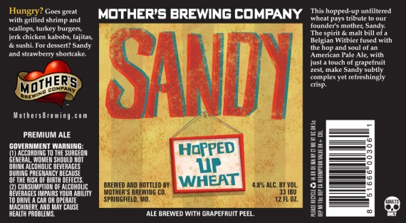 Mother's Brewing Sandy