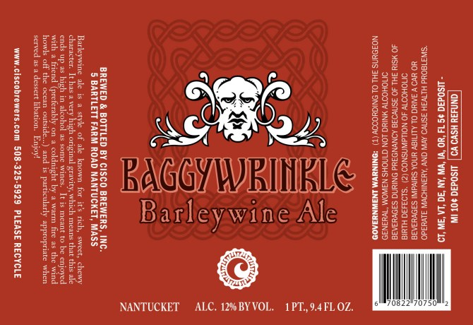 Nantucket Baggywrinkle Barleywine