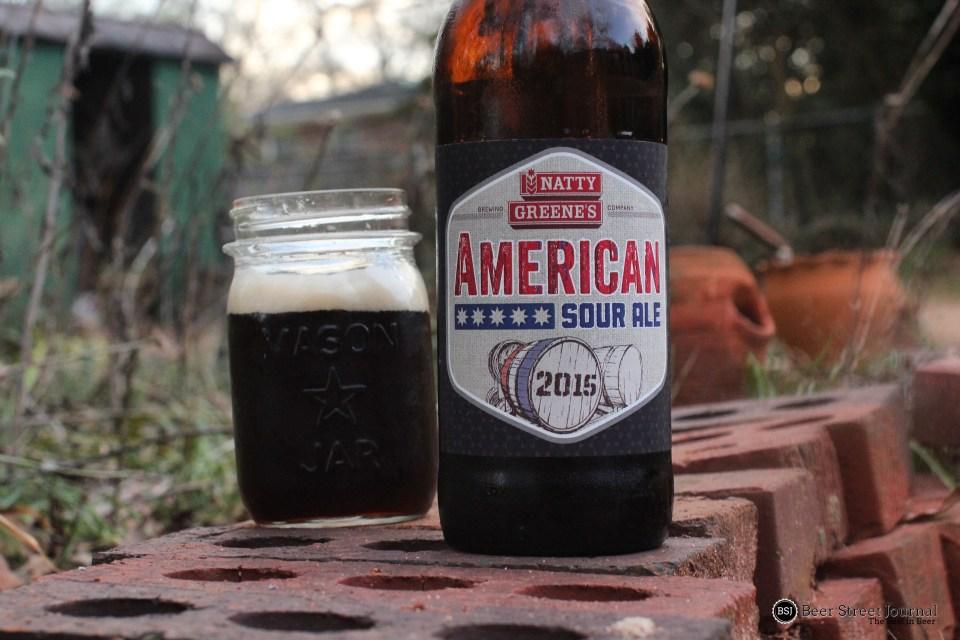 Natty Greene's American Sour 2015 bottle