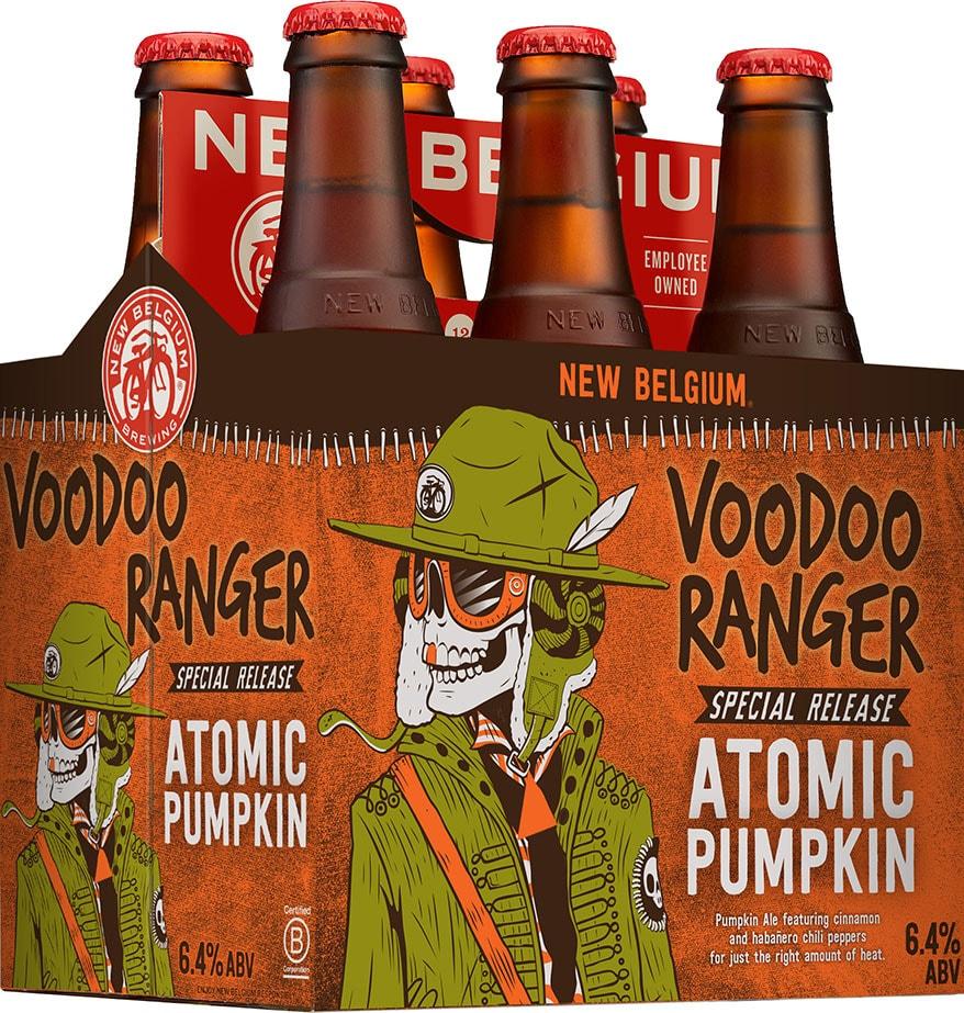 Pumpkin meets habanero in New Belgium Atomic Pumpkin - Beer