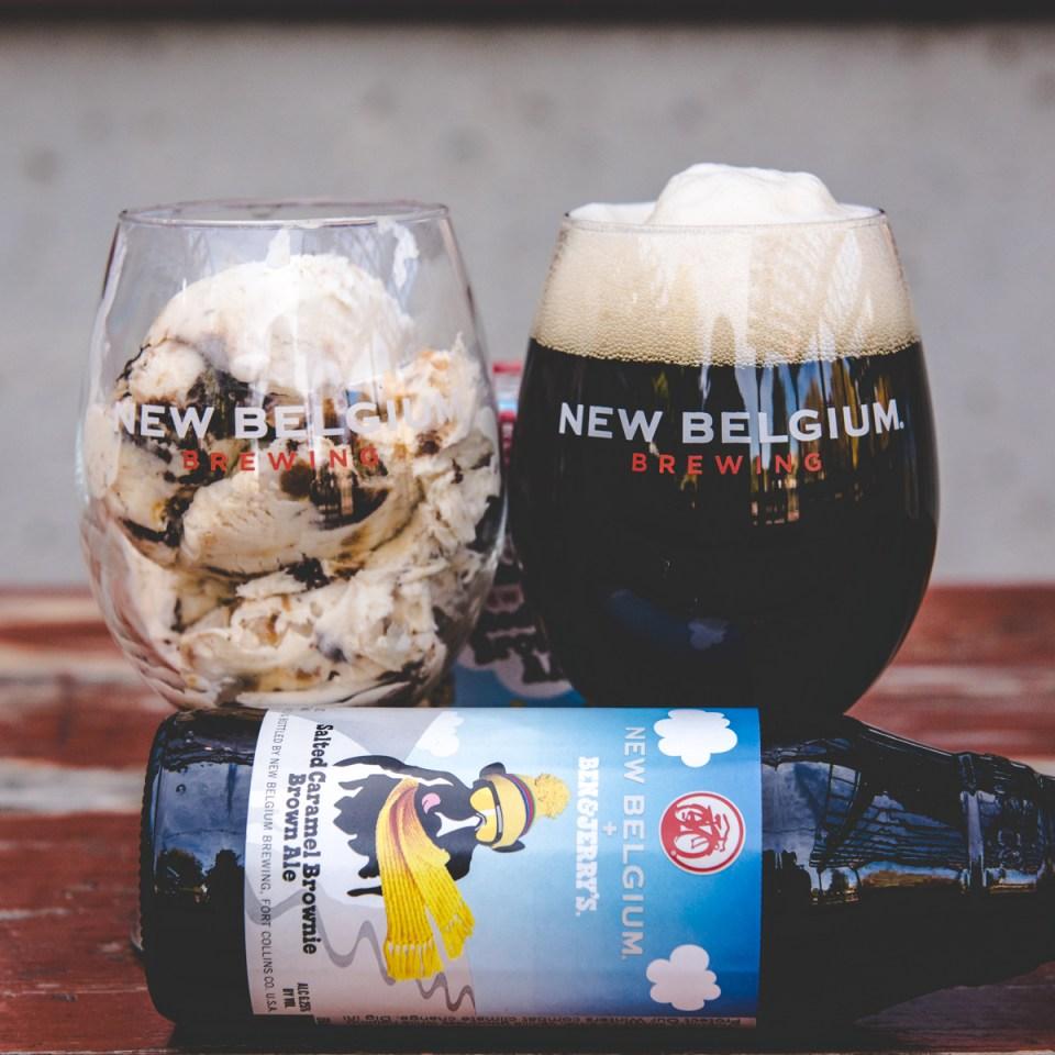 New Belgium Ben & Jerrys Beer