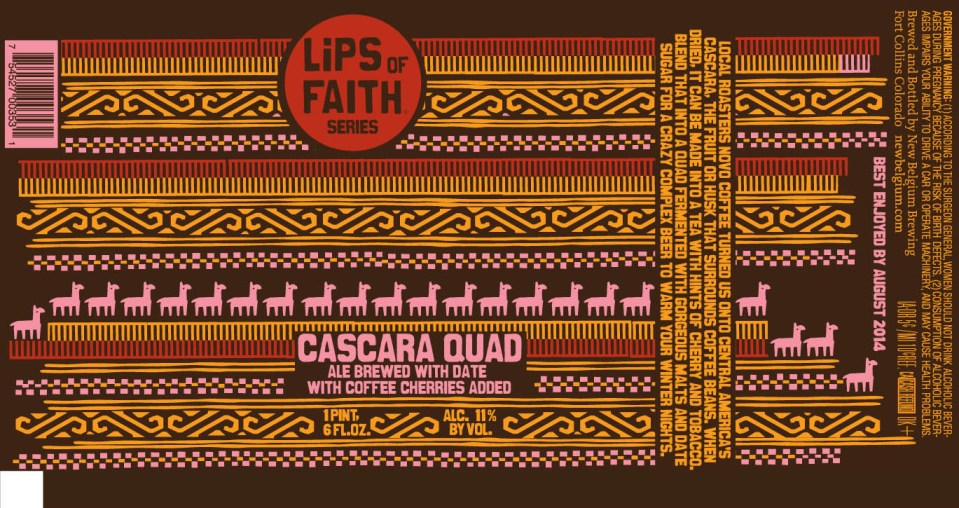 New Belgium Cascara Quad