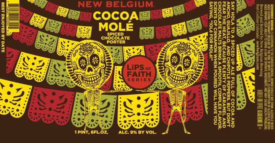 New Belgium Cocoa Mole Spiced Chocolate Porter