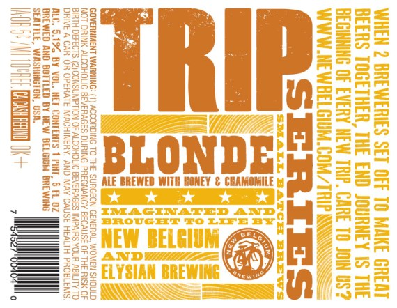 New Belgium Elysian Trip Series Blonde Ale