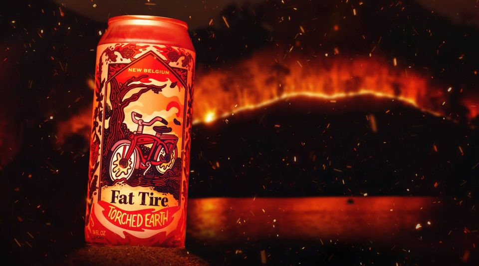 New Belgium Fat Tire Torched Earth