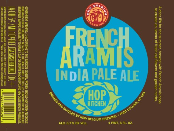 New Belgium Hop Kitchen French Aramis