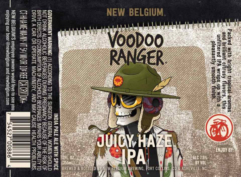 New Belgium Juicy Haze IPA