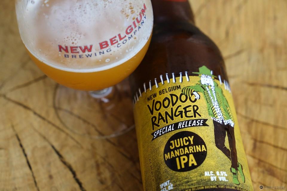 New Belgium Juicy Mandarina IPA bottle