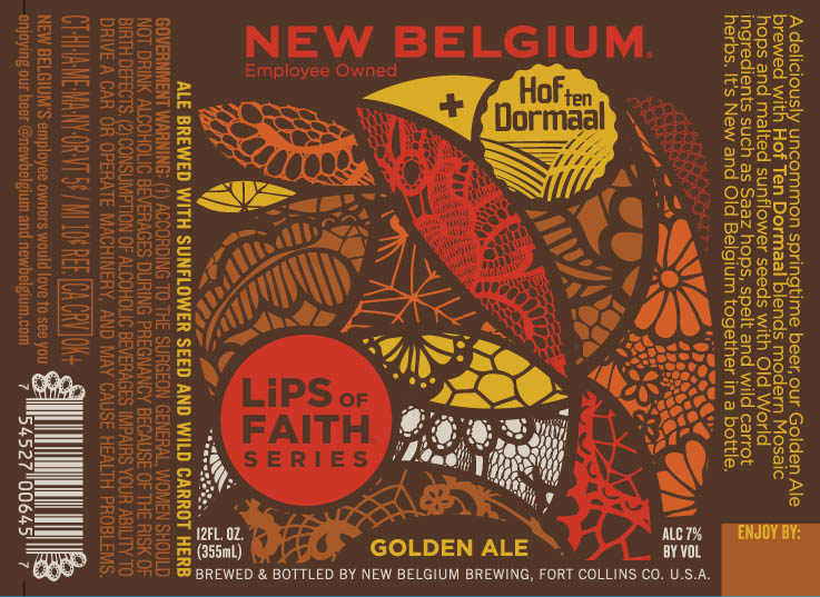 New Belgium Lips of Faith Golden Ale