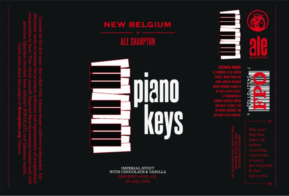 New Belgium Piano Keys