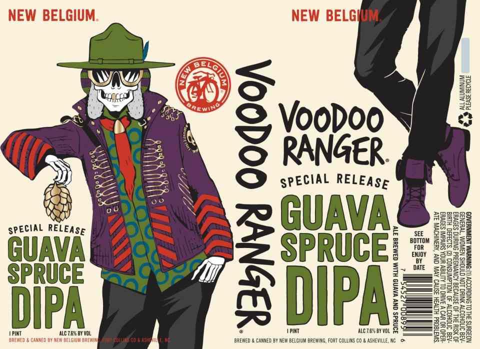 New Belgium Voodoo Ranger Guava Spruce DIPA