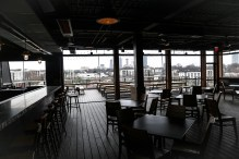 Rooftop patio overlooking the Beltline & Atlanta