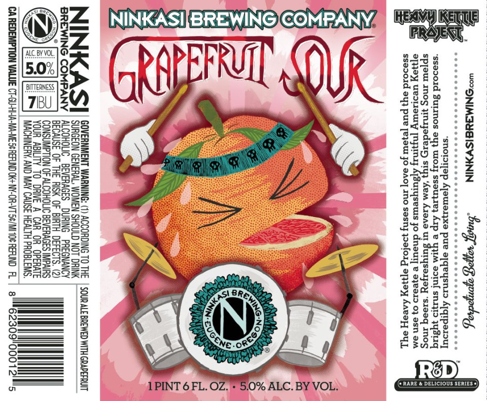 Ninkasi Grapefruit Sour