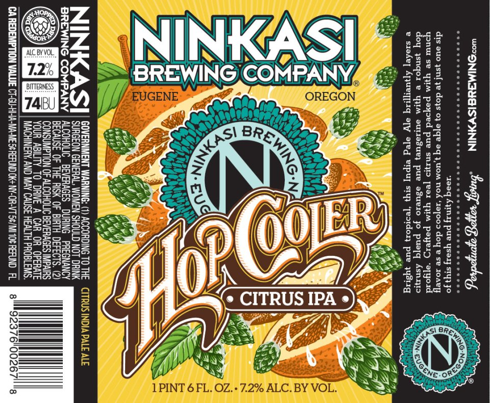 Ninkasi Hop Cooler Citrus IPA